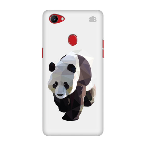 Low Poly Panda Oppo F7 Cover