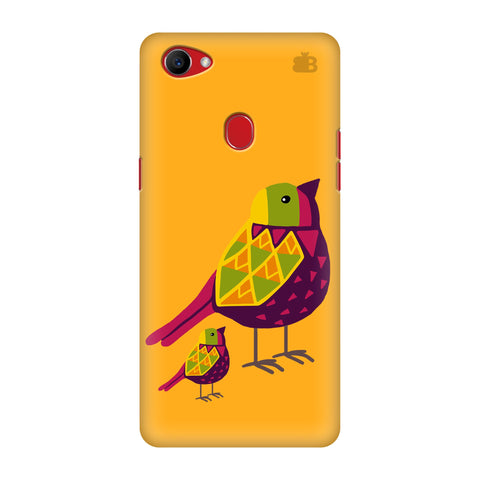 Mom Kid Bird Oppo F7 Cover