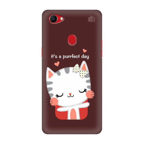 Purrfect Day Oppo F7 Cover