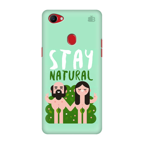 Stay Natural Oppo F7 Cover