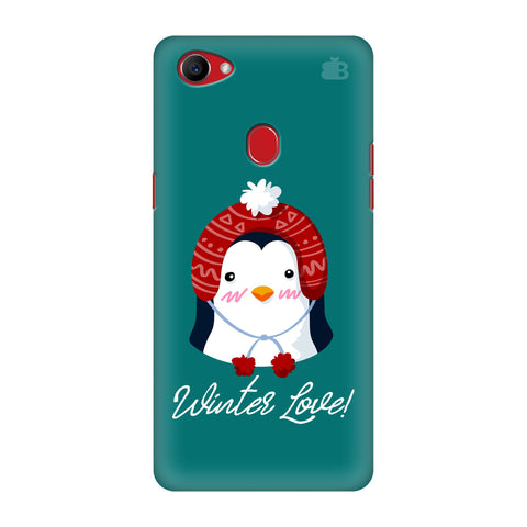 Winter Love Oppo F7 Cover