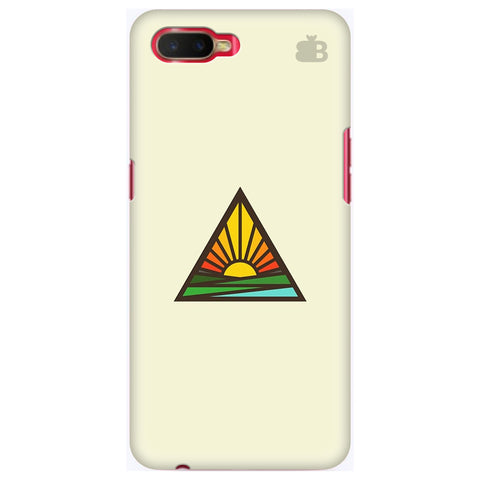 Triangular Sun Oppo K1 Cover