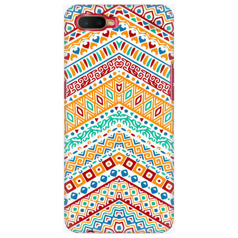 Wavy Ethnic Art Oppo K1 Cover