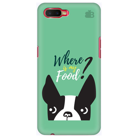 Where is my Food Oppo K1 Cover