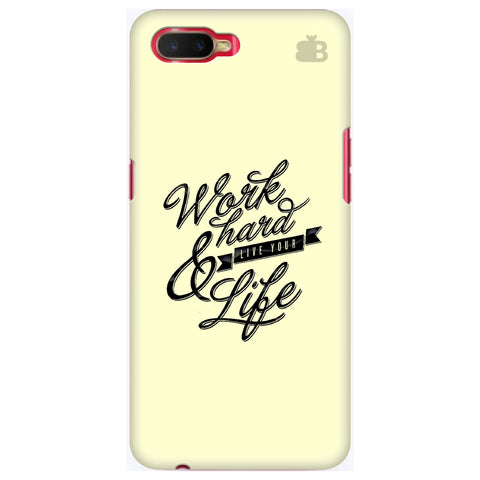 Work Hard Oppo K1 Cover