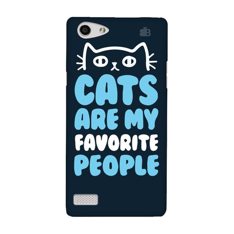 Cats favorite People Oppo Neo 7 Phone Cover