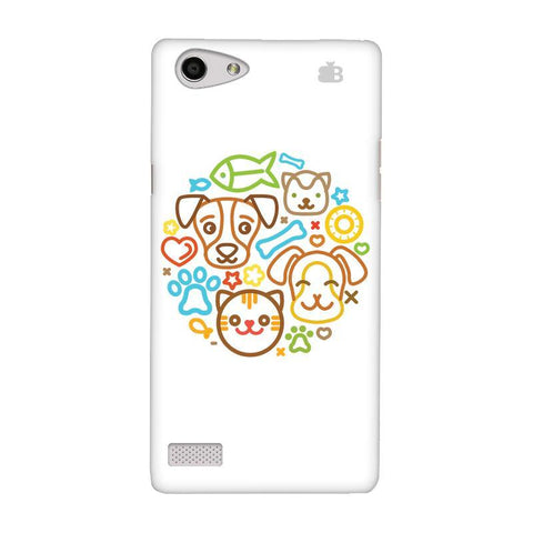 Cute Pets Oppo Neo 7 Phone Cover