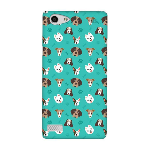Doggie Pattern Oppo Neo 7 Phone Cover