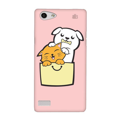 Kitty Puppy Buddies Oppo Neo 7 Phone Cover