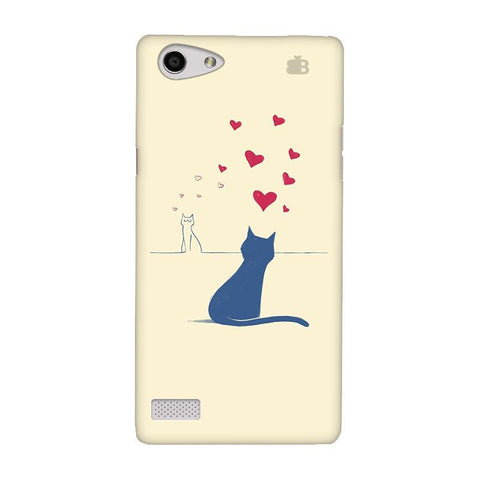 Kitty in Love Oppo Neo 7 Phone Cover