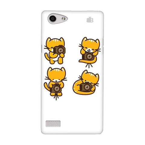 Photographer Kitty Oppo Neo 7 Phone Cover
