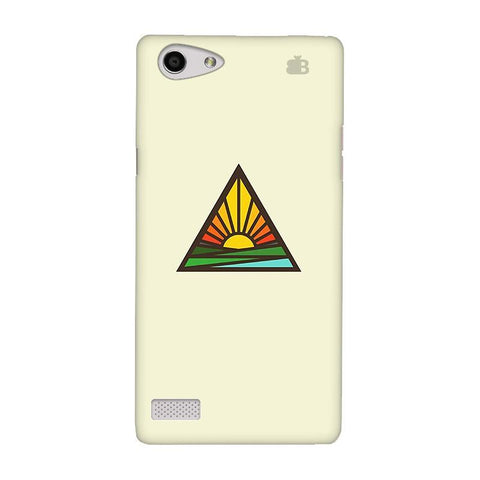 Triangular Sun Oppo Neo 7 Phone Cover