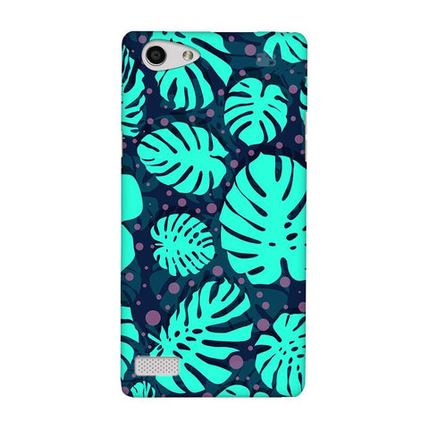 Tropical Leaves Pattern Oppo Neo 7 Phone Cover