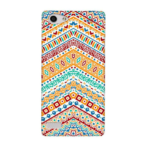 Wavy Ethnic Art Oppo Neo 7 Phone Cover