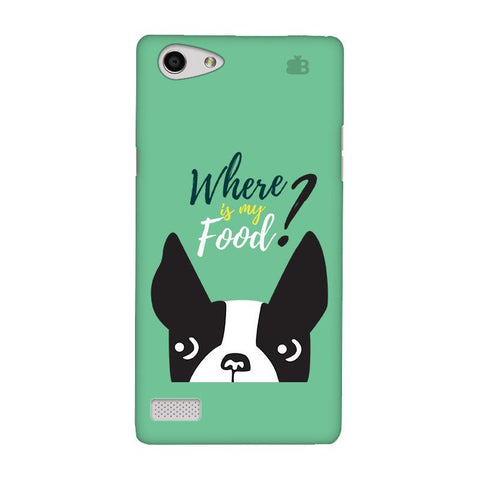 Where is my Food Oppo Neo 7 Phone Cover