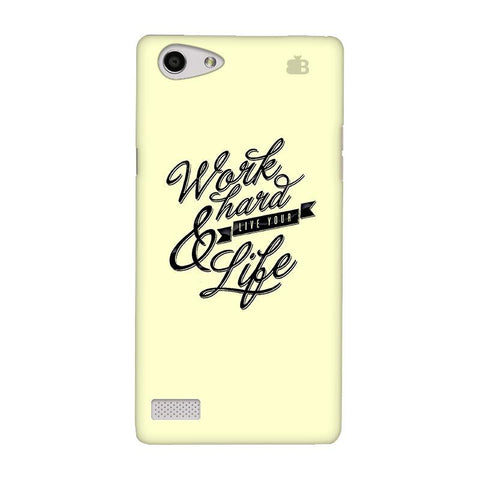 Work Hard Oppo Neo 7 Phone Cover