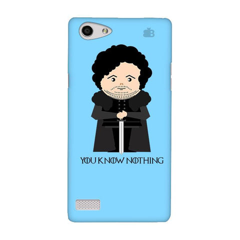 You Know Nothing Oppo Neo 7 Phone Cover