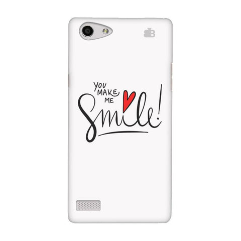 You make me Smile Oppo Neo 7 Phone Cover