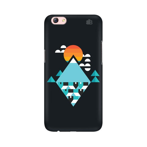 Abstract Mountains Oppo R9s Phone Cover