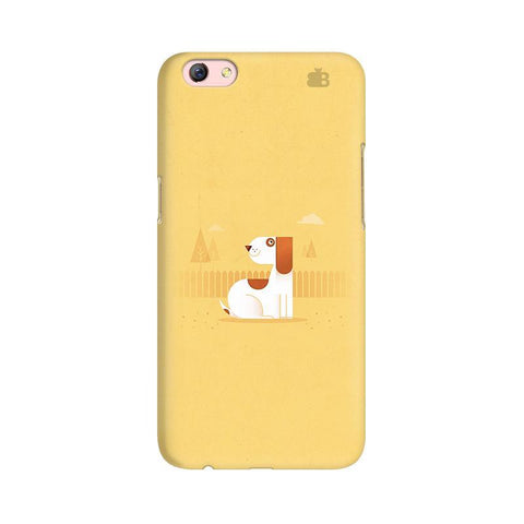 Calm Dog Oppo R9s Phone Cover