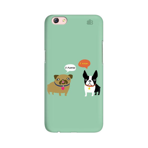 Cute Dog Buddies Oppo R9s Phone Cover
