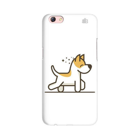 Happy Puppy Oppo R9s Phone Cover