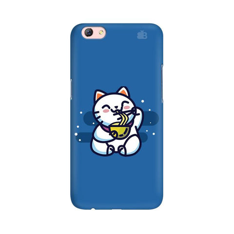 KItty eating Noodles Oppo R9s Phone Cover