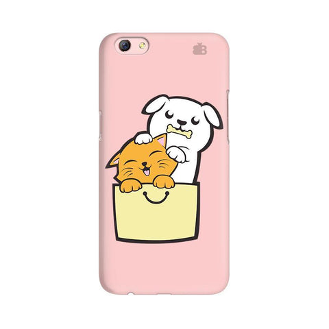Kitty Puppy Buddies Oppo R9s Phone Cover
