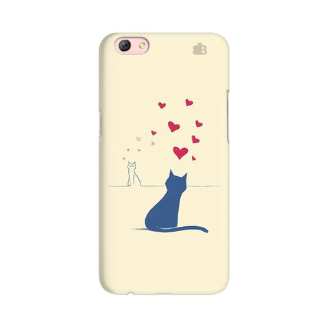 Kitty in Love Oppo R9s Phone Cover