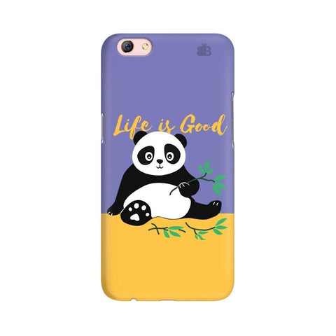 Panda Life is Good Oppo R9s Phone Cover