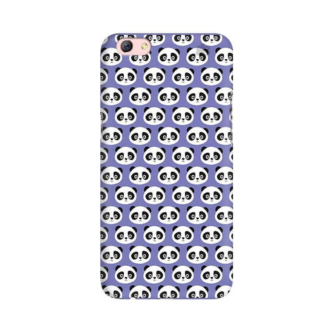Panda Pattern Oppo R9s Phone Cover