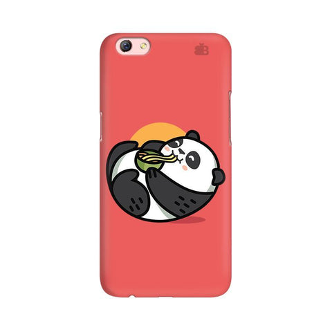 Panda eating Noodles Oppo R9s Phone Cover