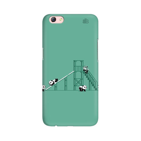 Pandas Playing Oppo R9s Phone Cover