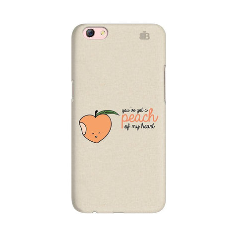 Peach of my heart Oppo R9s Phone Cover
