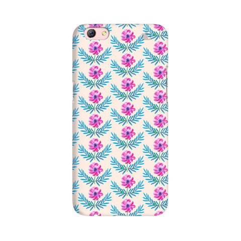 Pink Watercolor Pattern Oppo R9s Phone Cover