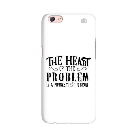 Problem of the Heart Oppo R9s Phone Cover