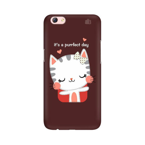 Purrfect Day Oppo R9s Phone Cover