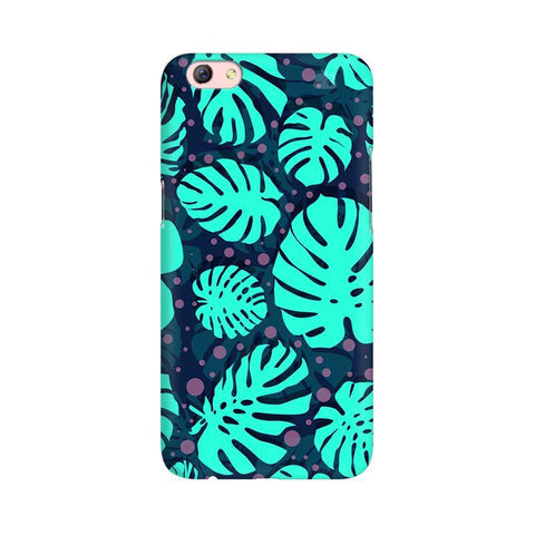 Tropical Leaves Pattern Oppo R9s Phone Cover