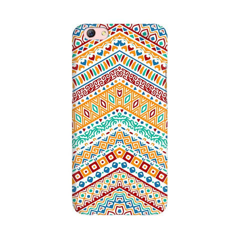 Wavy Ethnic Art Oppo R9s Phone Cover