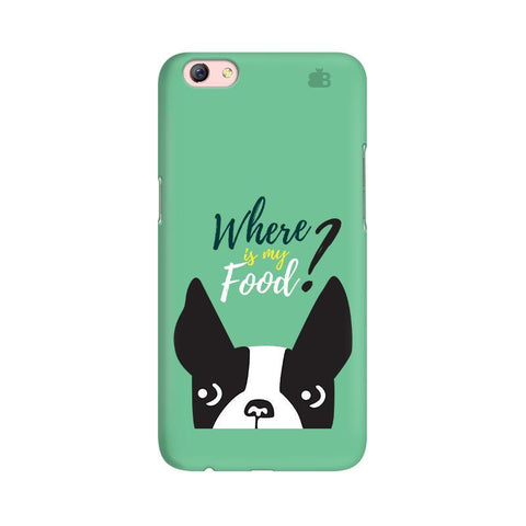 Where is my Food Oppo R9s Phone Cover