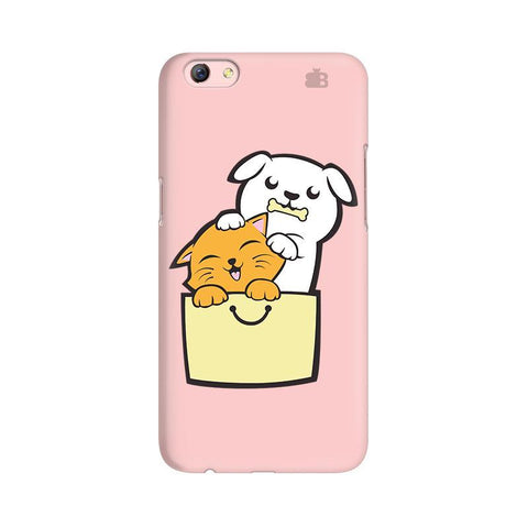 Kitty Puppy Buddies Oppo R9s Plus Phone Cover