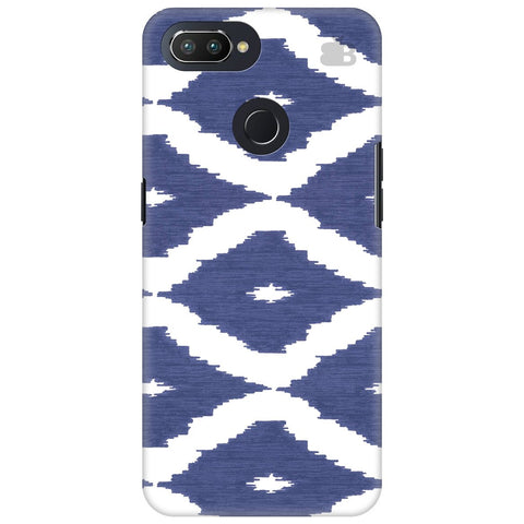 Blue Ikat Oppo RealMe 2 Pro Cover