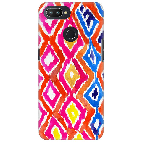 Colorful Ikat Oppo RealMe 2 Pro Cover