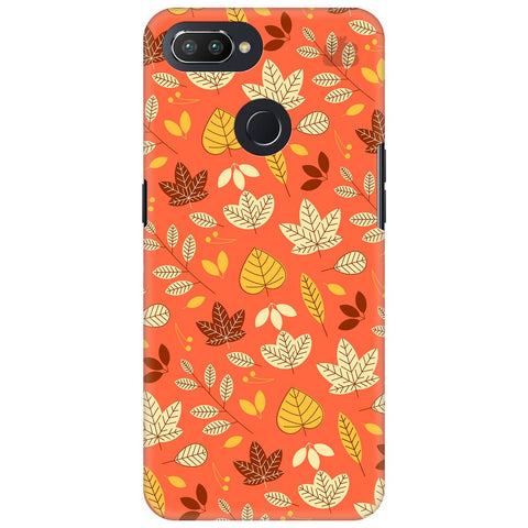Cute Leaves Pattern Oppo RealMe 2 Pro Cover