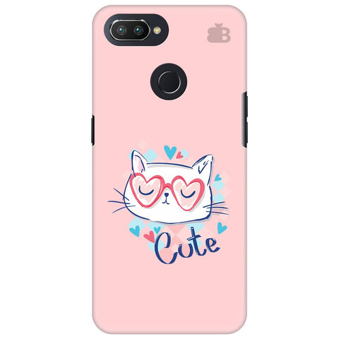 Cute Sleepy Kity Oppo RealMe 2 Pro Cover