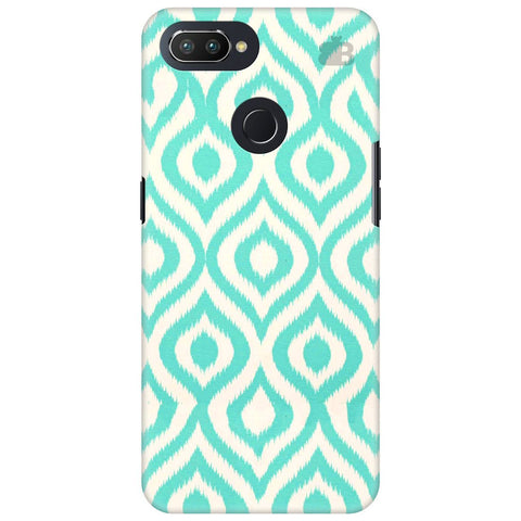 Cyan Ikat Oppo RealMe 2 Pro Cover