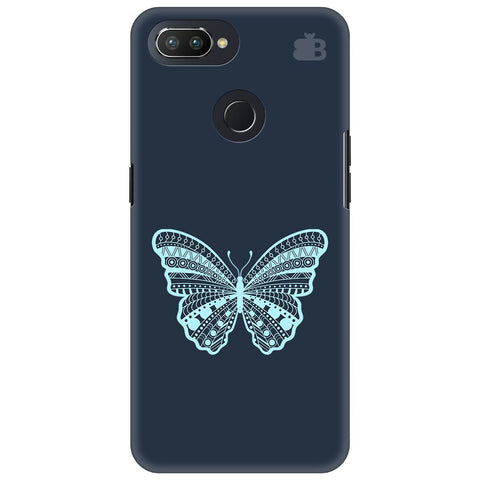 Ethnic Butterfly Art Oppo RealMe 2 Pro Cover