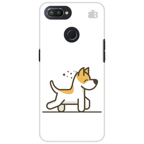 Happy Puppy Oppo RealMe 2 Pro Cover