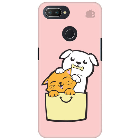 Kitty Puppy Buddies Oppo RealMe 2 Pro Cover