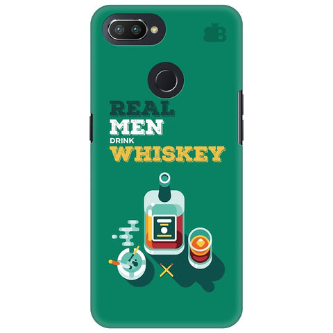 Men and Whiskey Oppo RealMe 2 Pro Cover